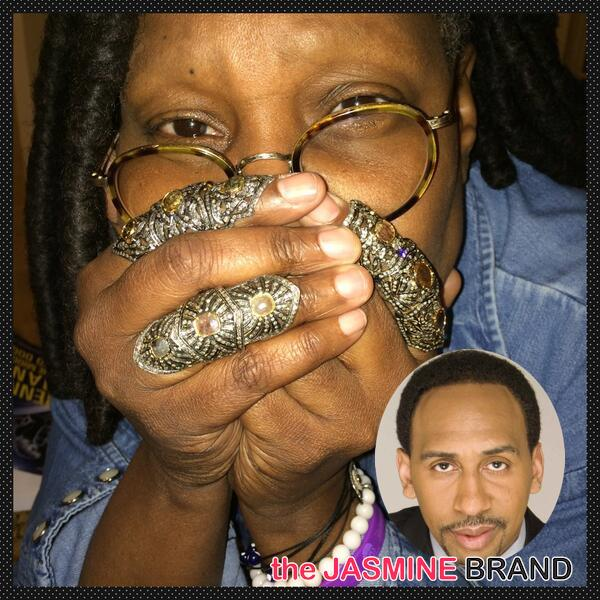 Is Whoopi Goldberg Blaming Women For Domestic Violence? 'The View' Host Defends Stephen A. Smith