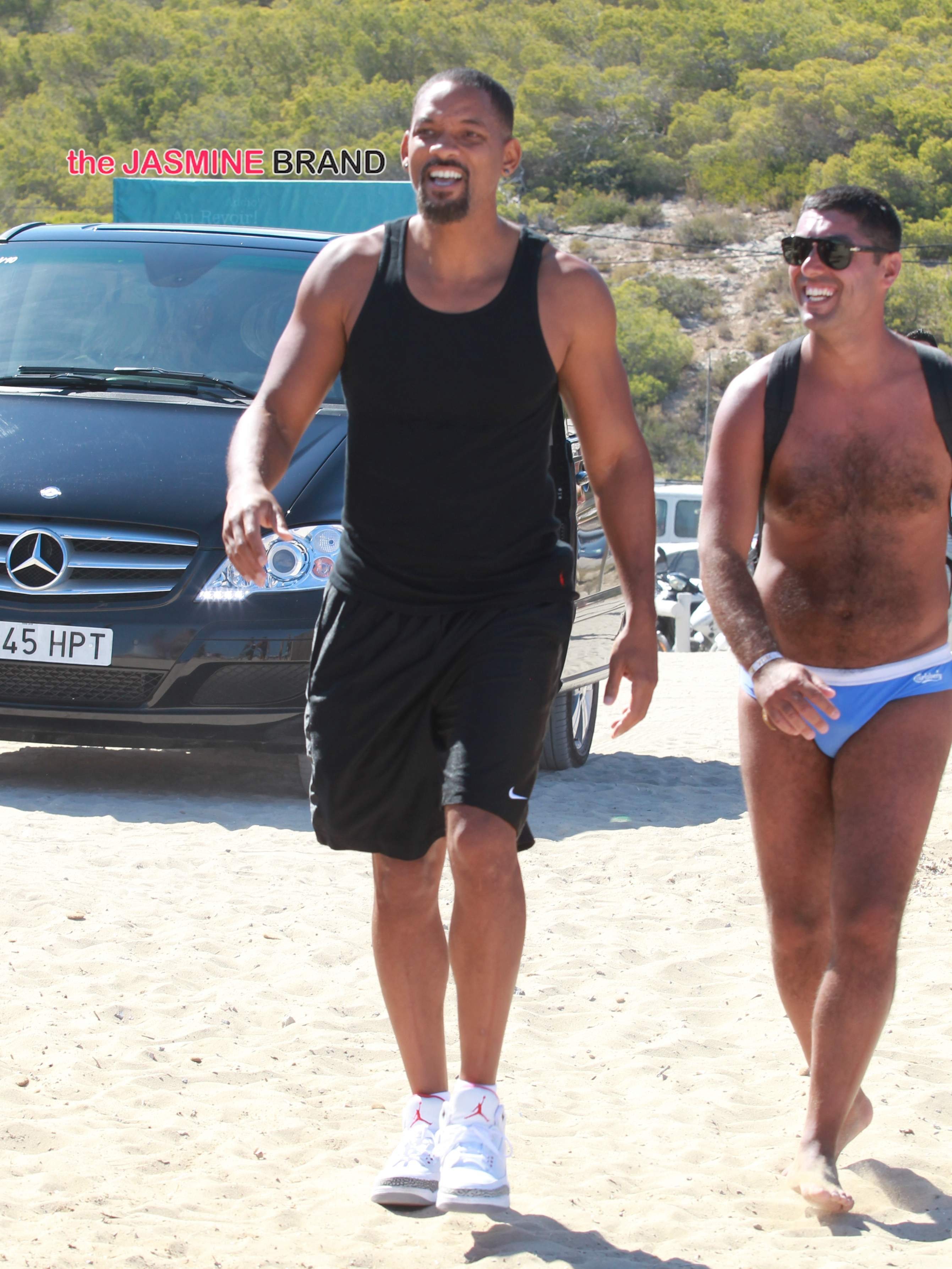 Will Smith enjoys a vacation in Ibiza
