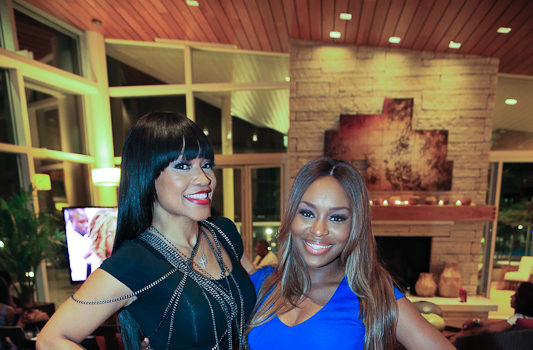 [Photos] 'Atlanta Exes' Cast Hosts Private Viewing Party