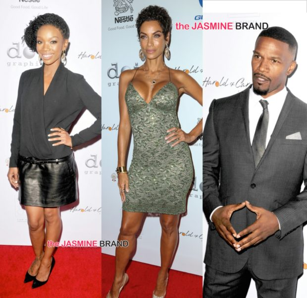 [Photos] Pump Foundation Gala: Jamie Foxx, Brandy, Nicole Murphy, Sugar Shane Mosley, Sheree Fletcher Attend