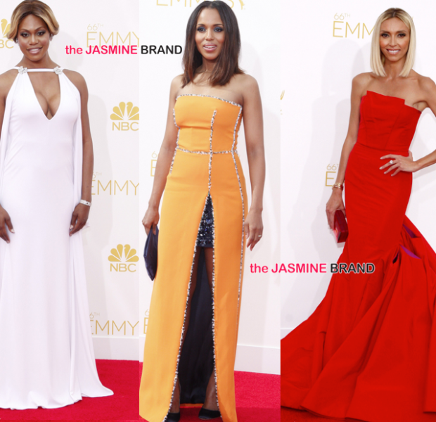 66th EMMY Awards Red Carpet: Kerry Washington, Julia Roberts, KeKe Palmer, Angela Bassett & More