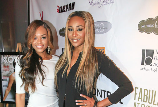 Cynthia Bailey & ATL Housewife Newbie Demetria McKinney Attend Kontrol Party