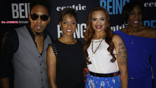 Faith Evans, Mc Lyte, Deitrick Haddon Attend Centric's 'BEING' Premiere