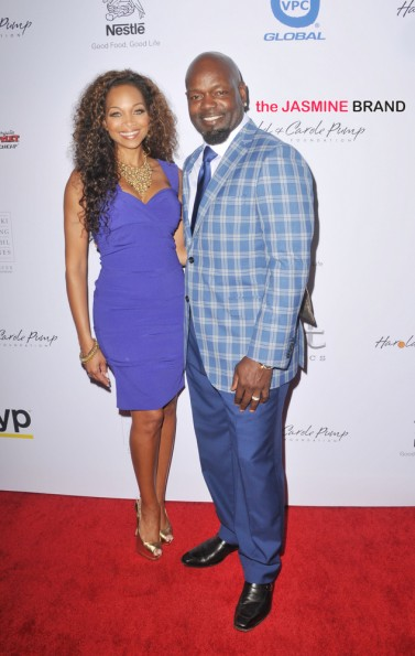 Emmitt Smith and wife Patricia Smith