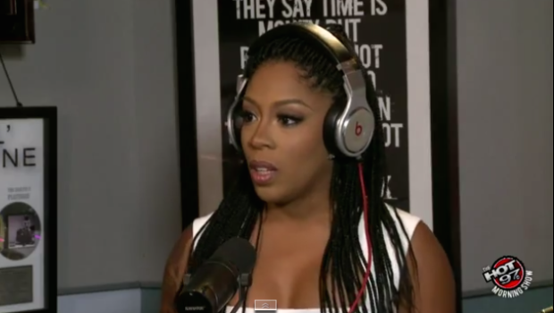 [VIDEO] K. Michelle On Elle Varner Fall Out: She Stole My Song, She Wanted To Be Me