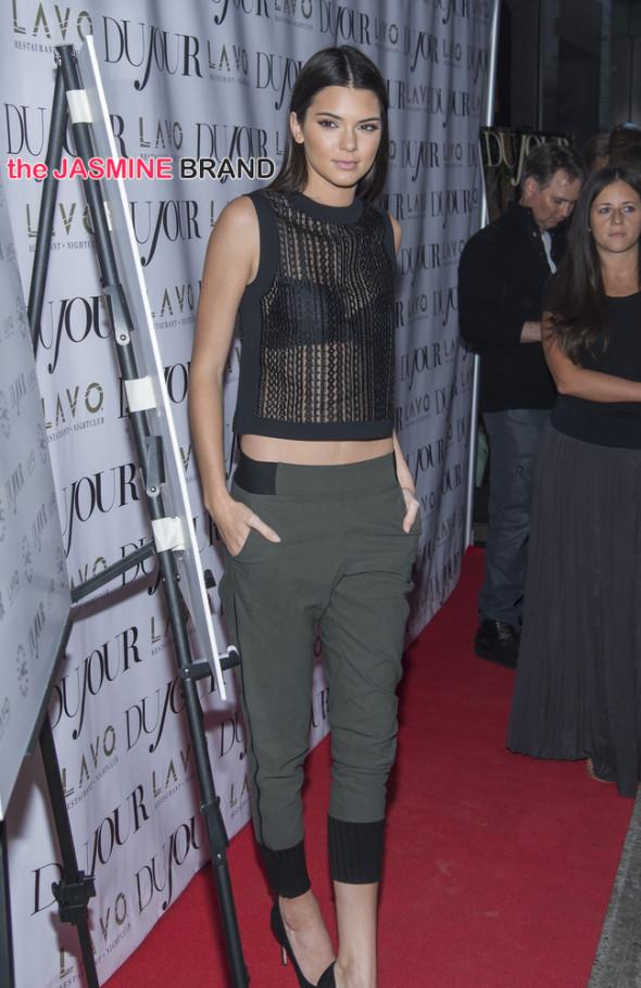 DuJour Magazine's Jason Binn Celebrates Kendall And Kylie Jenner's Fall 2014 Magazine Cover - Arrivals