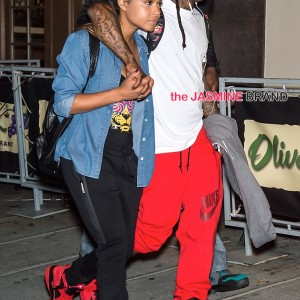 Lil Wayne and Christina Milian take a stroll on the streets of Philadelphia, PA
