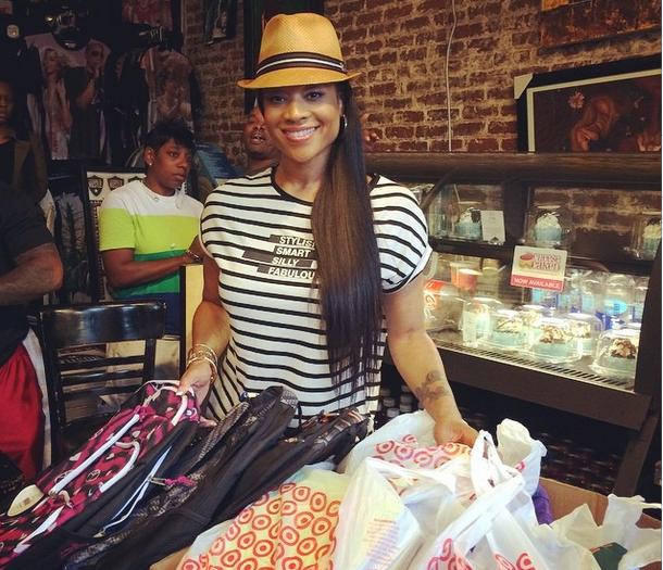 Love & Hip Hop Atlanta's Mimi Faust Hosts 'Back to School Drive'