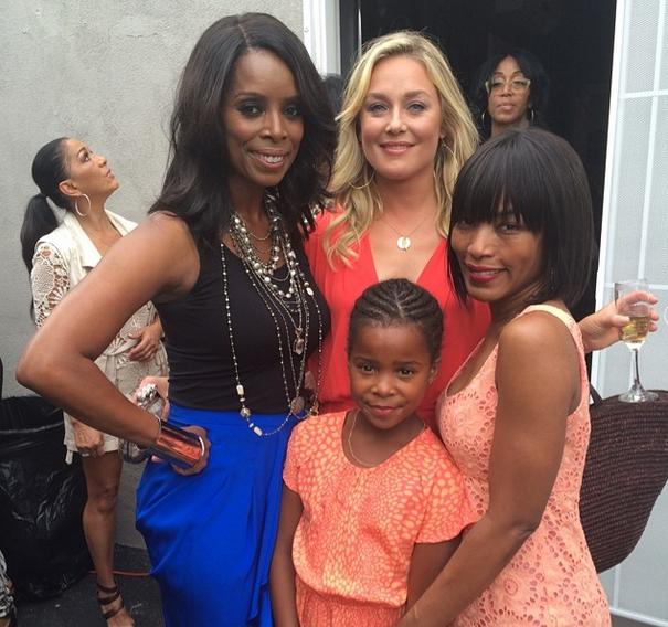 Tasha Smith Opens Actors Studio: Angela Bassett, Brandy, Salli Richardson Attend