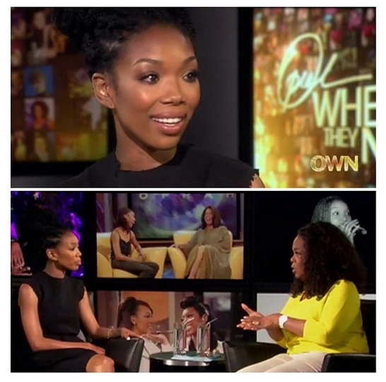 [VIDEO] Brandy Explains Why She Lied to Oprah, How Kim Kardashian Came Into Ray J's Life