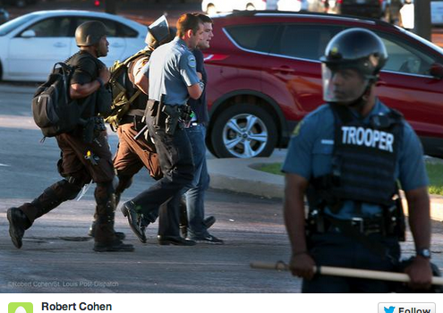 Tension Heightens In Ferguson, Journalists Arrested While Covering Protests