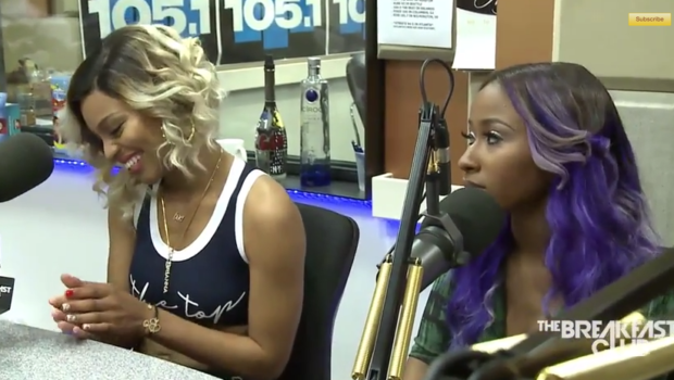 [WATCH] Diamond & Brianna Perry Talk 'Sisterhood of Hip Hop', If Their Show Will Help Female Rappers + Diamond Reacts To Rumors She's Dating Keyshia Cole's Estranged Husband