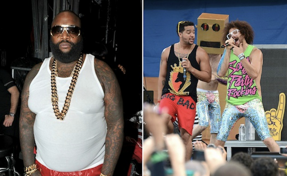 [EXCLUSIVE] Legal Battle Between Rick Ross & LMFAO Heats Up