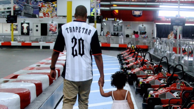 Beyonce, Jay Z & Blue Ivy Take Over Go-Kart Racing Venue