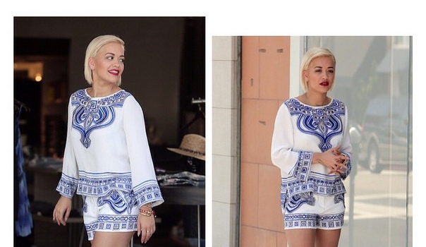 Celebrity Outfits of the Week: Rita Ora, Kim Kardashian, Tyga, Baby North West, Naya Rivera