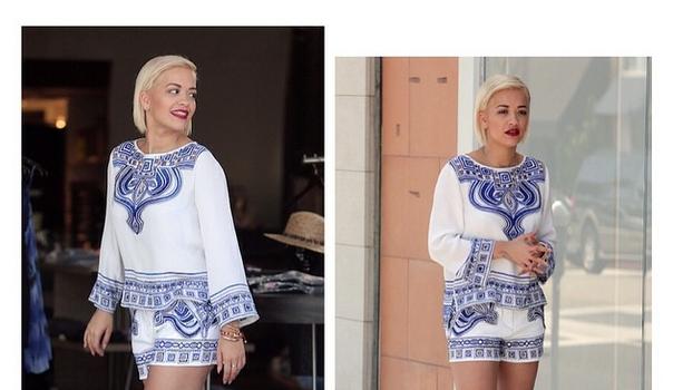 Celebrity Outfits of the Week: Rita Ora, Kim Kardashian, Tyga, Baby North West, Naya Rivera