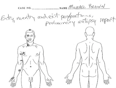 Mike Brown's Preliminary Autopsy Released, Teen Shot 6 Times