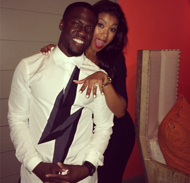 [VIDEO] She Said, Yes! Kevin Hart & Girlfriend Eniko Parrish Engaged