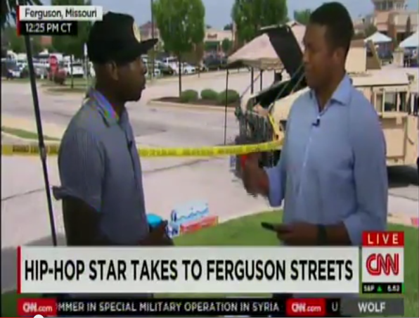 [WATCH] Rapper Talib Kweli & CNN's Don Lemon Argue Over Disrespect & Coverage: Let me finish!