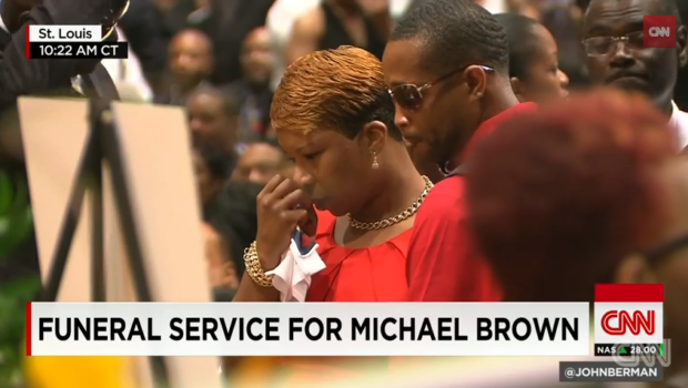 Mike Brown Laid to Rest: Spike Lee, Rev. Al Sharpton, Tom Joyner Attend Service