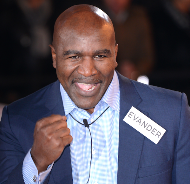 [EXCLUSIVE] Evander Holyfield Lawyers Up! Fights With Auction House Over Memorabilia