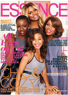 Alfre Woodard, Laverne Cox, Nicole Beharie and Danai Gurira Shine on ESSENCE's October Cover