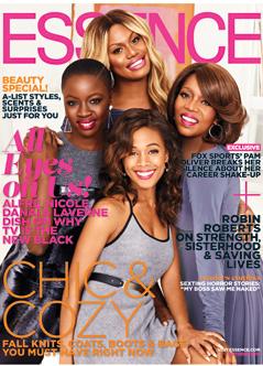 Alfre Woodard, Laverne Cox, Nicole Beharie and Danai Gurira Shine on ESSENCE's October Cover