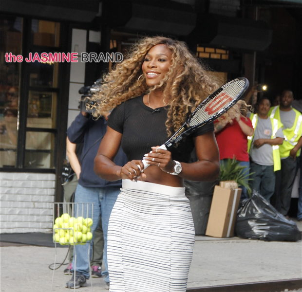 Celebrity Stalking: Serena Williams, Tika Sumpter, Zendaya, Nick Cannon & Dave Hollister