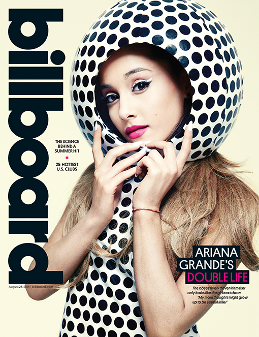 ariana grande-billboard cover-the jasmine brand