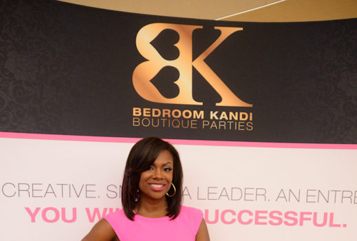 Hustle Harder! Kandi Burruss Hosts 'Bedroom Kandi Conference'