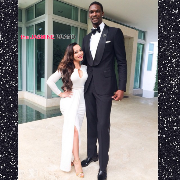 Chris & Adrienne Bosh Are Having Another Baby! [Ovary Hustlin']