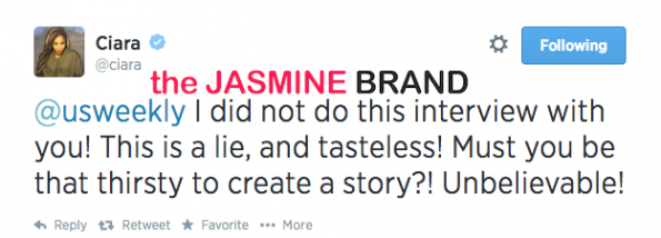 ciara blasts us weekly-denies interview-calls off engagement to future-the jasmine brand