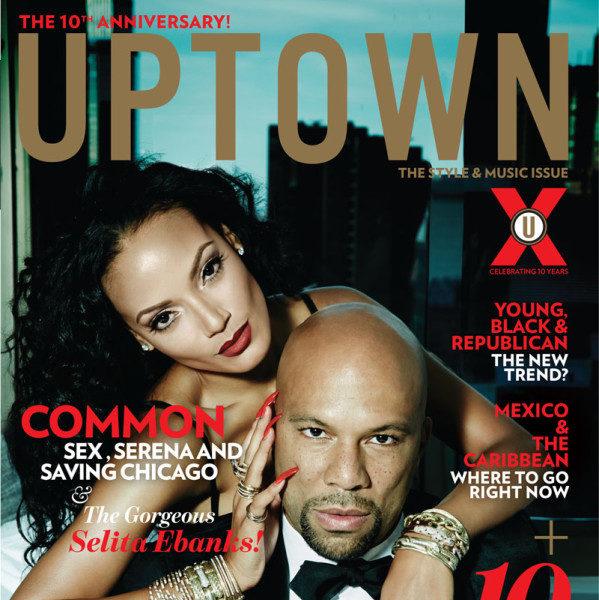 Common & Selita Ebanks UPTOWN Cover