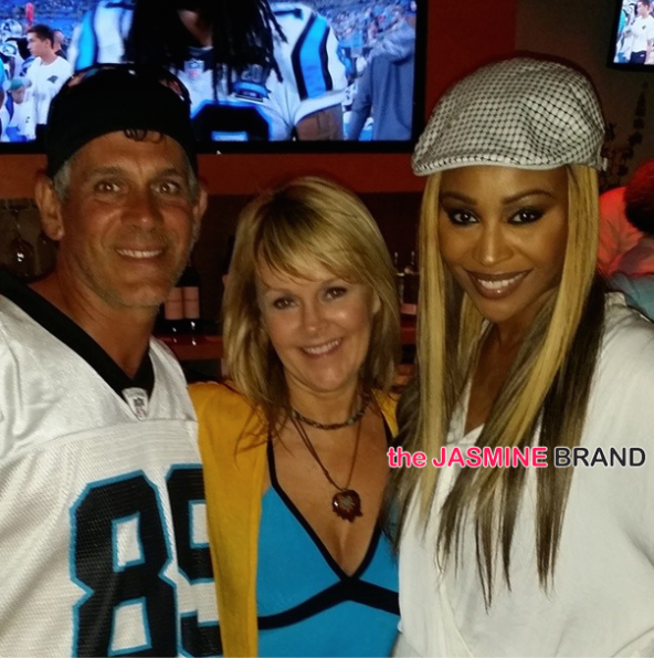 cynthia bailey-peter thomas-kordell stewart-open charlotte sports bar-the jasmine brand