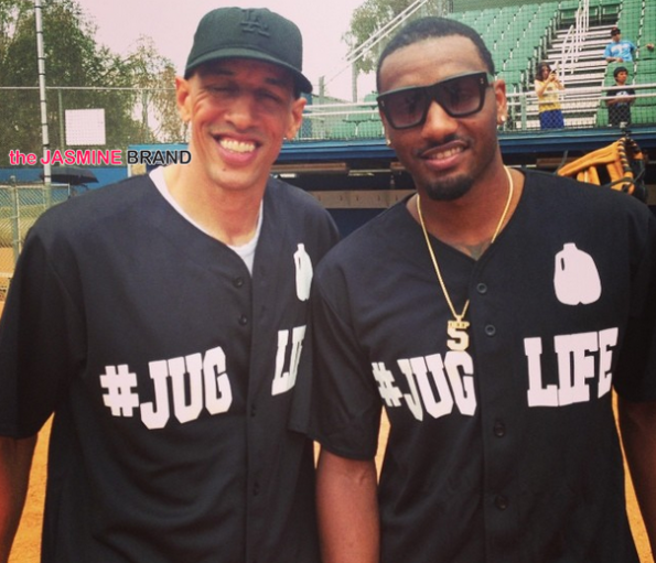 doug christie-jug life charity softball game 2014-the jasmine brand