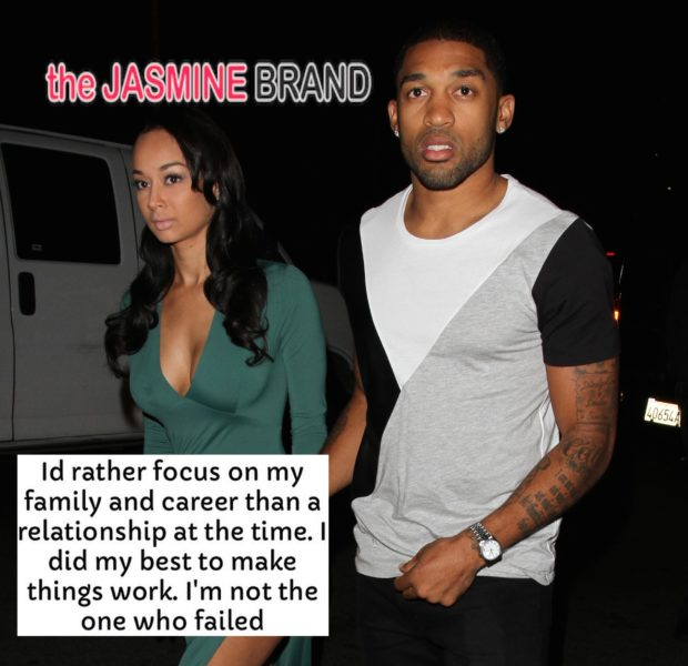 Basketball Wives LA's Draya & NFL'er Orlando Scadrick Split: Read Their Cryptic Instagram Messages.