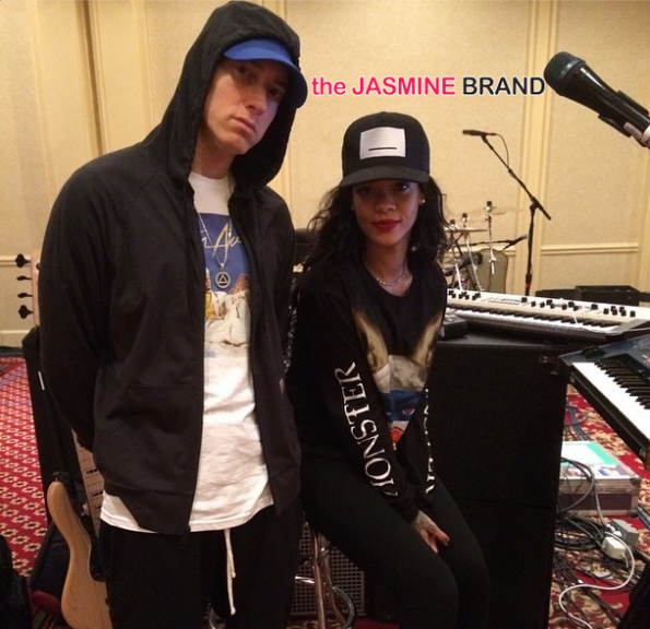 eminem-filing lawsuit-concert rihanna rose bowl-counterfeiters illegal products the jasmine brand