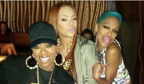 Faith Evans & Missy Elliott Shoot 'I Deserve It', Keyshia Cole Shoots 'No Complications' + Wiz Khalifa, T.I.