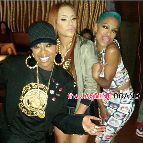 Faith Evans & Missy Elliott Shoot 'I Deserve It', Keyshia Cole Shoots 'No Complications' + Wiz Khalifa, T.I.