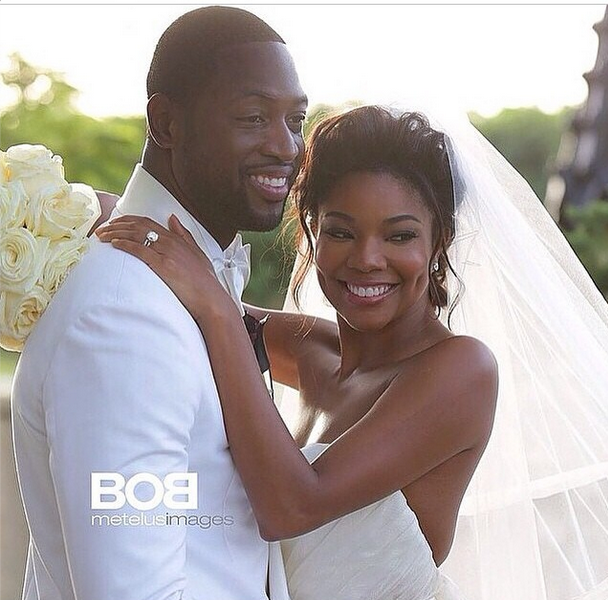 Gabrielle Union & Dwyane Wade Get Hitched – See Her Wedding Gown!