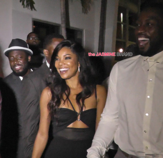 Gabrielle Union & D.Wade Host Rehearsal Dinner, Amber Rose Twirks For Wiz, Kelly Rowland Bares Work-Out Belly + Snoop, Nia Long, Tiny Harris & The Game