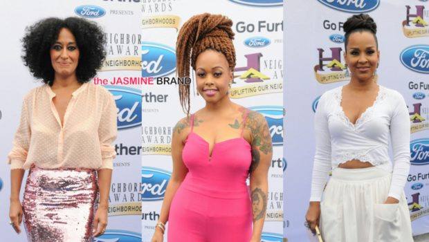 Neighborhood Awards: Tracee Ellis Ross, Chrisette Michele, Kandi Burruss, Erica Campbell & More Celebs Spotted