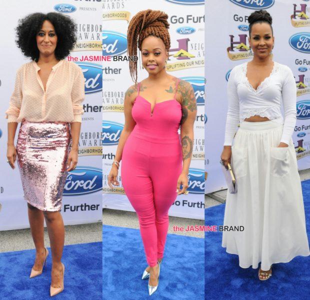 Neighborhood Awards: Tracee Ellis Ross, Chrisette Michele, Kandi Burruss, Erica Campbell & More Celebs Spotted