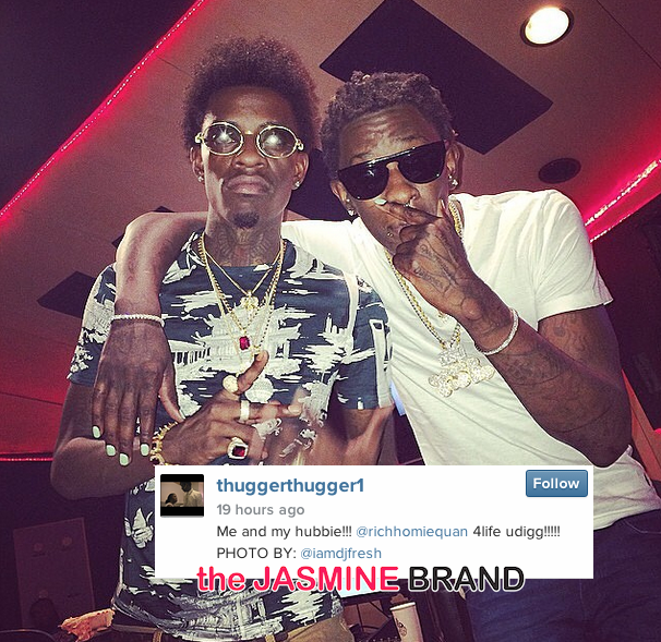 [Photos] Rich Homie Quan & Young Thug Perform in Atlanta