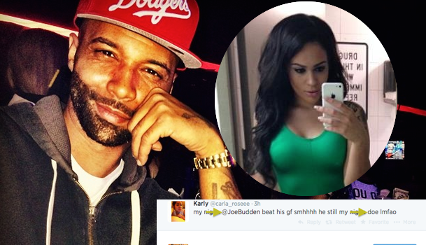 [Photos] Rapper Joe Budden Denies Brutally Beating Up Girlfriend