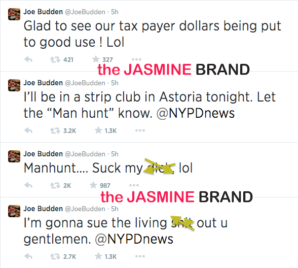 joe budden threatens to sue nypd-the jasmine brand