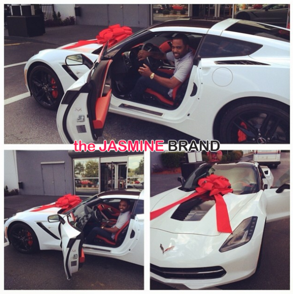 kandi burruss buys husband corvette birthday the jasmine brand