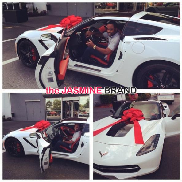 kandi burruss buys husband corvette birthday the jasmine brand