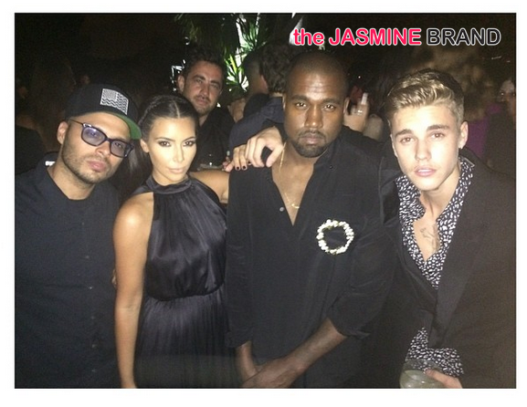 Riccardo Tisci's Ibiza B-Day Bash Brings Out Diddy, Ciara, Kardashians, Kanye West, Justin Bieber & Naomi Campbell