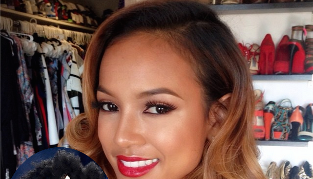 Karrueche Criticized For Poking Fun of Blue Ivy's Hair
